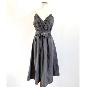 Converse One Cinch Waist Plunging Neckline Dress